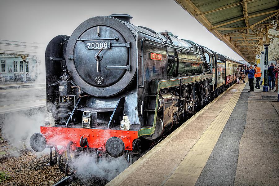 Br Class 7 Britannia Locomotive