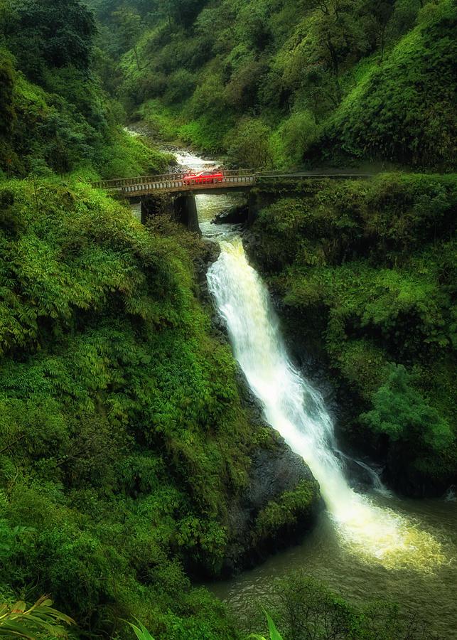 Bridge on the Road to Hana by Jade Moon