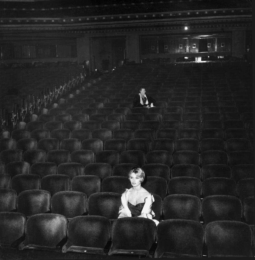 Brigitte Bardot Photograph by Hulton Archive