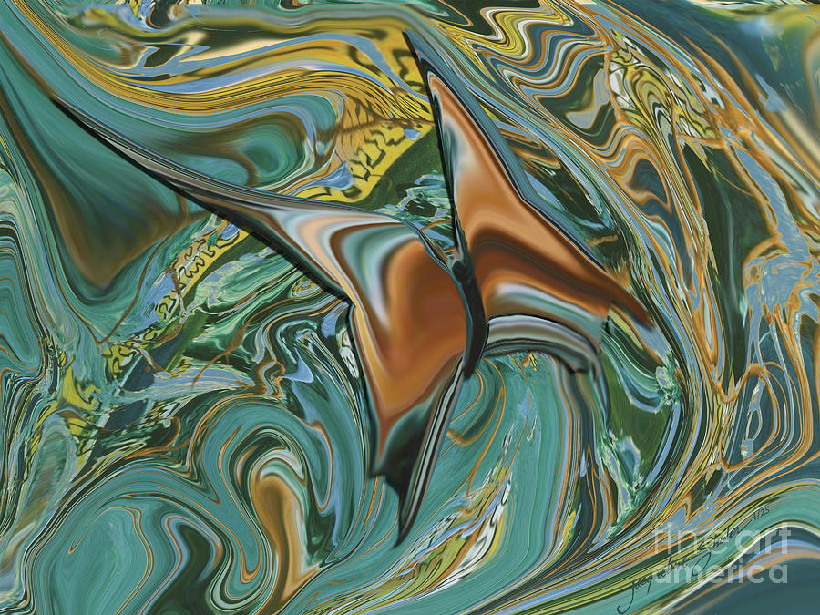 Bronze Butterfly by Jacqueline Shuler