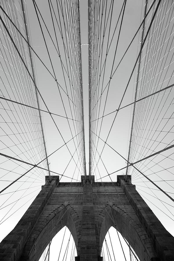 Brooklyn Bridge Photograph by Jimschemel