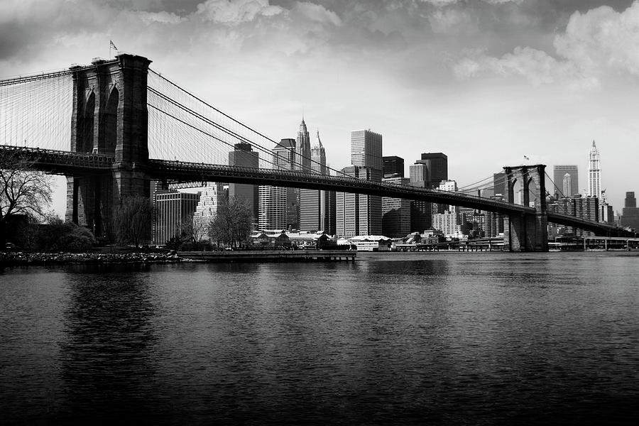 Brooklyn Bridge Photograph by Kiskamedia