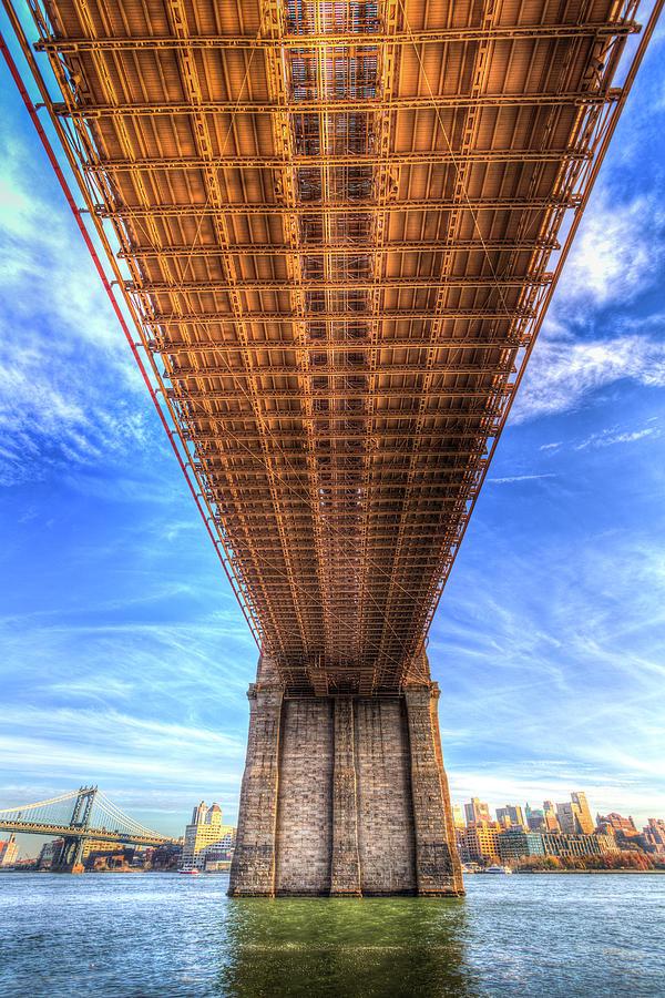 Brooklyn Bridge New York by David Pyatt