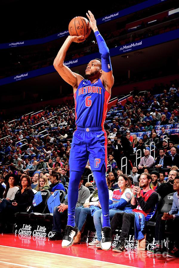 Brooklyn Nets V Detroit Pistons Photograph by Chris Schwegler