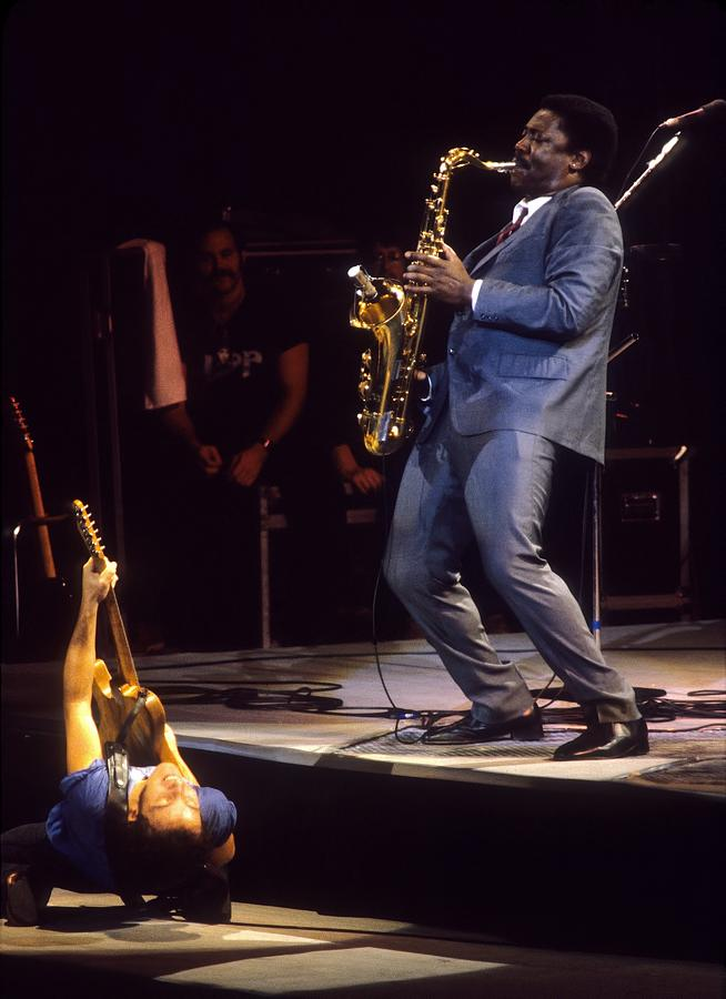 Bruce Springsteen Live Photograph by Ed Perlstein