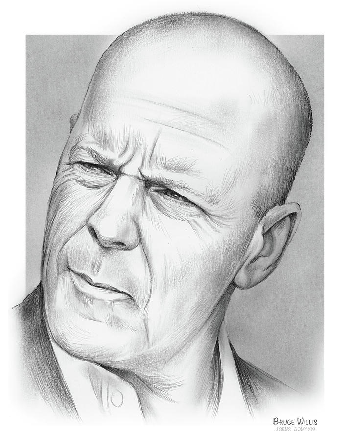 Bruce Willis Drawing