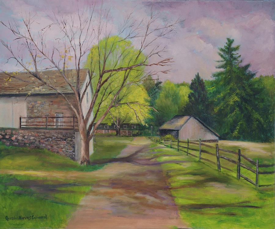 Bucks County Farm by Aurelia Nieves-Callwood
