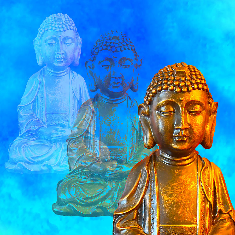 Buddha's Thoughts by Ginny Gaura