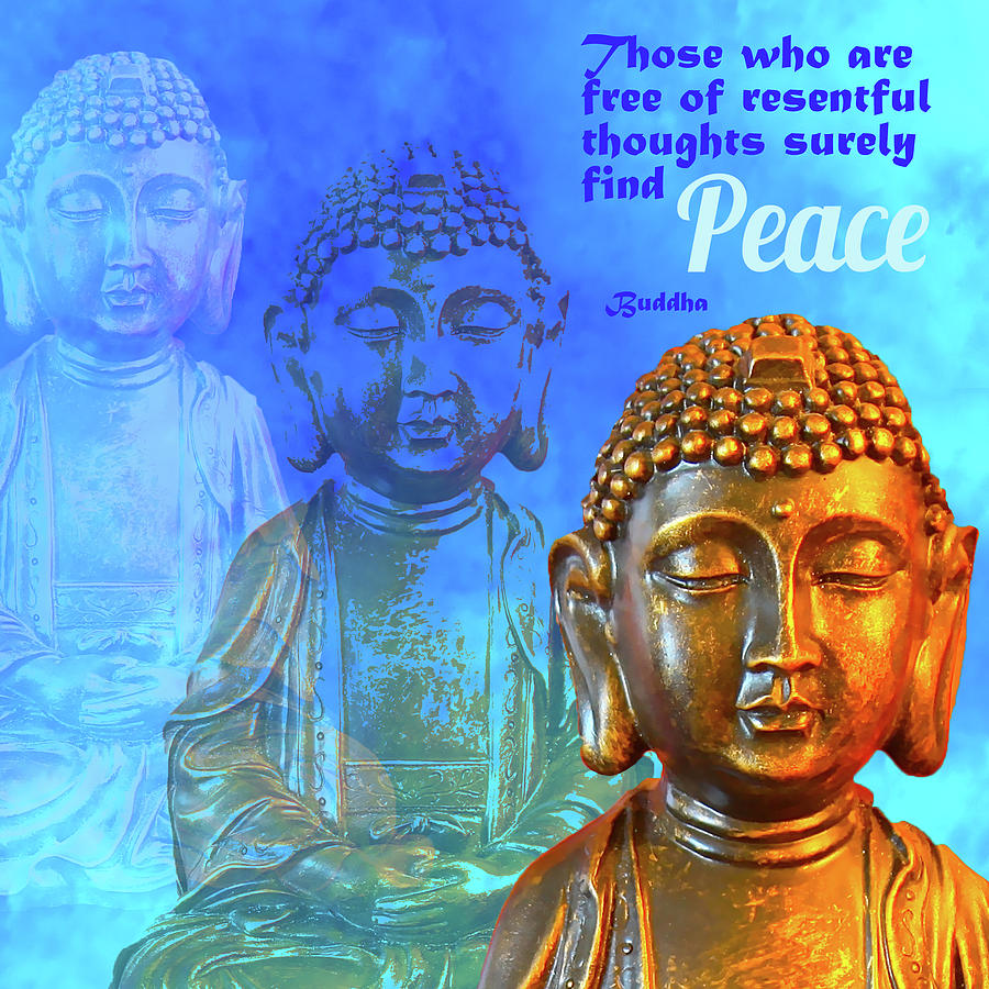 Buddha's Thoughts of Peace by Ginny Gaura