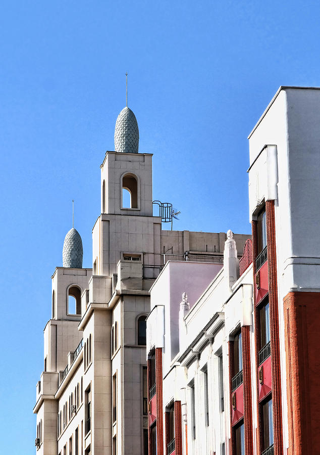 Building Architectural Detail # 5 - Madrid Photograph
