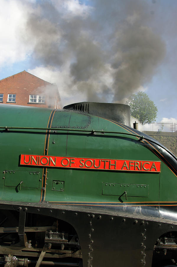 BURY. East Lancashire Railway. 60009 Union of South Af by Lachlan Main