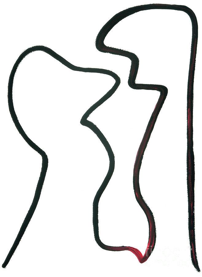 Love Painting - But I Love You by Bjorn Sjogren