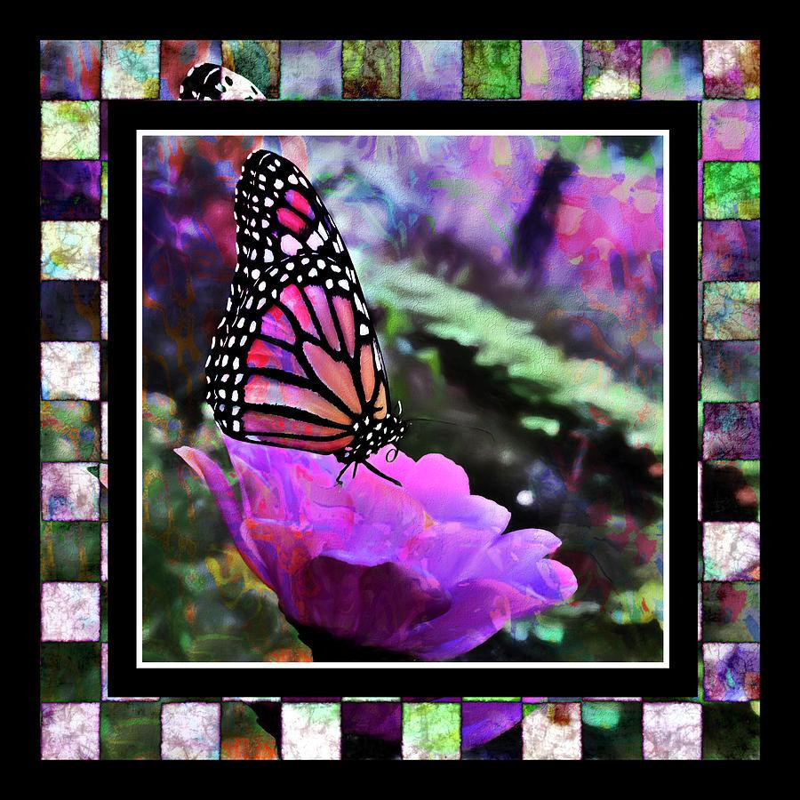 Butterflies are Free  Digital Art by Cindy Greenstein
