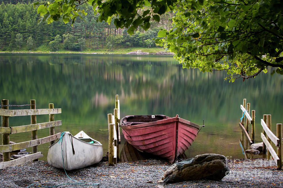 Buttermere Boats Photograph