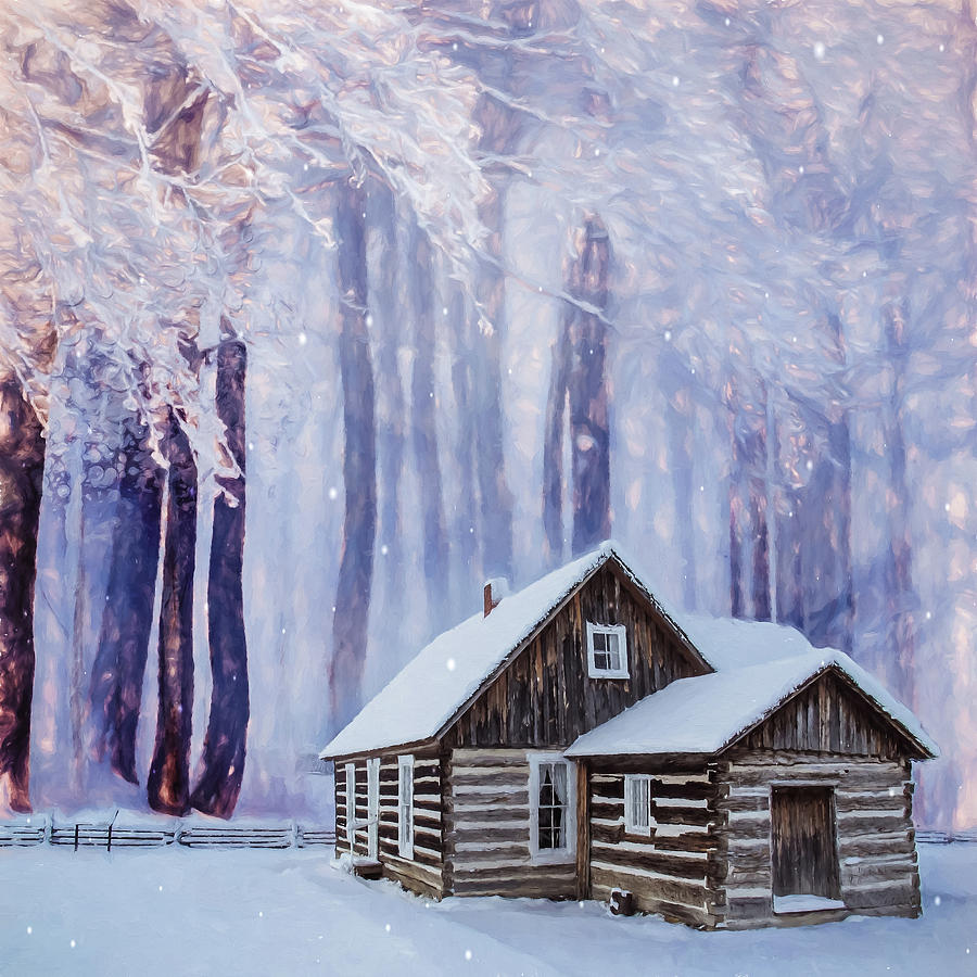Cabin in the Woods by Marilyn Wilson