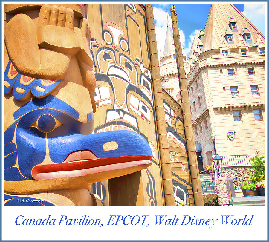 Canada Pavilion, EPCOT, Walt Disney World by A Gurmankin