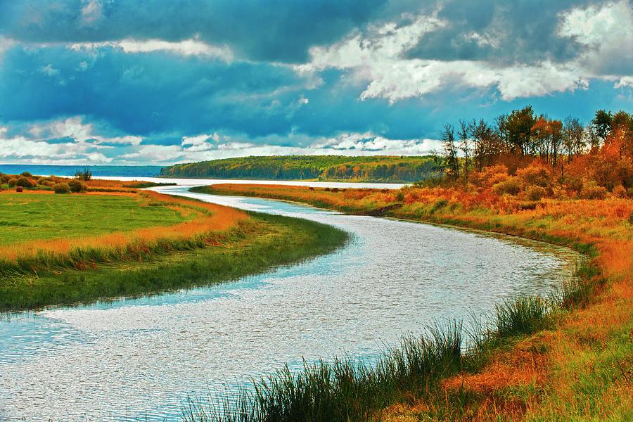Cloud Photograph - Canada, Saskatchewan, Lepine by Jaynes Gallery