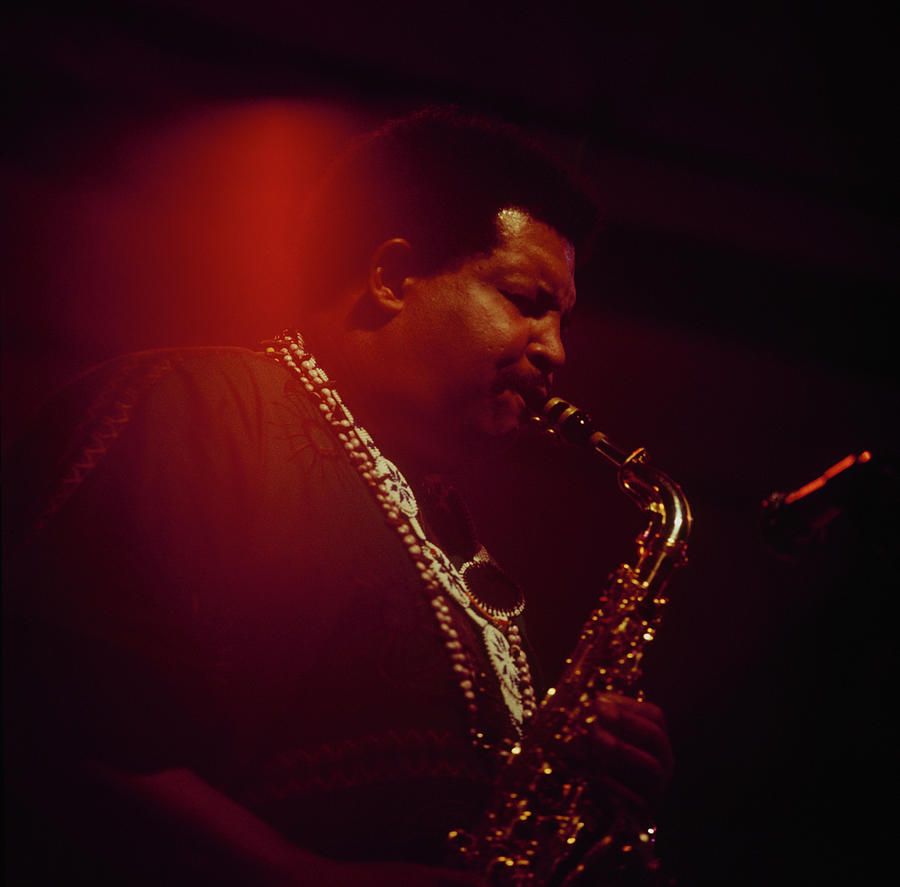 Cannonball Adderley Performs At Newport Photograph by David Redfern