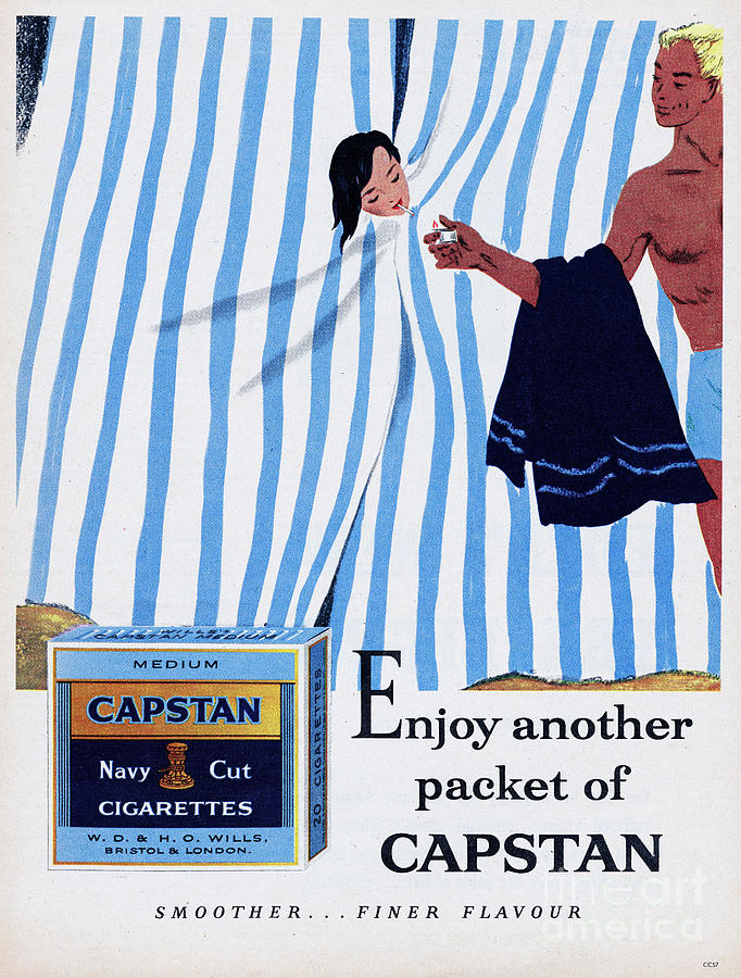 Capstan Navy Cut Cigarettes Photograph by Picture Post