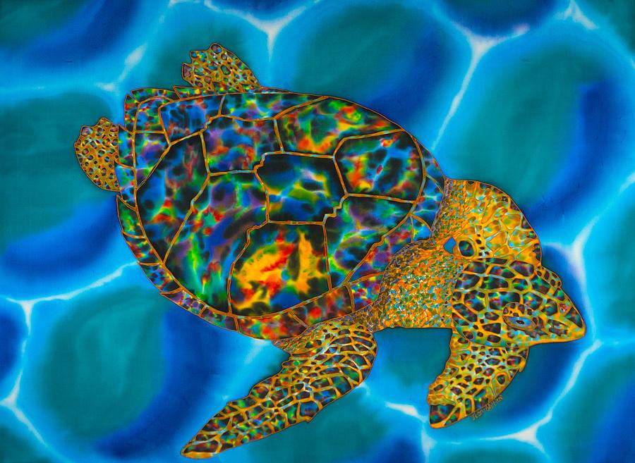 Caribbean Sea Turtle by Daniel Jean-Baptiste