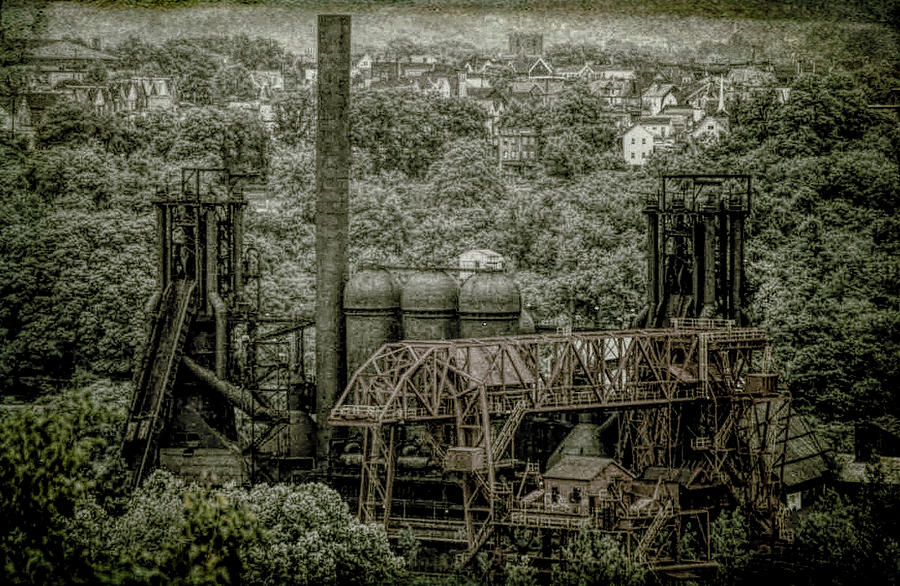 Carrie Furnace by Ronald Santini
