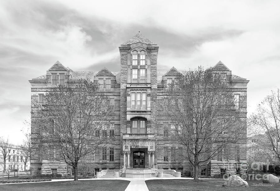 Case Western Reserve University Adelbert Hall by University Icons