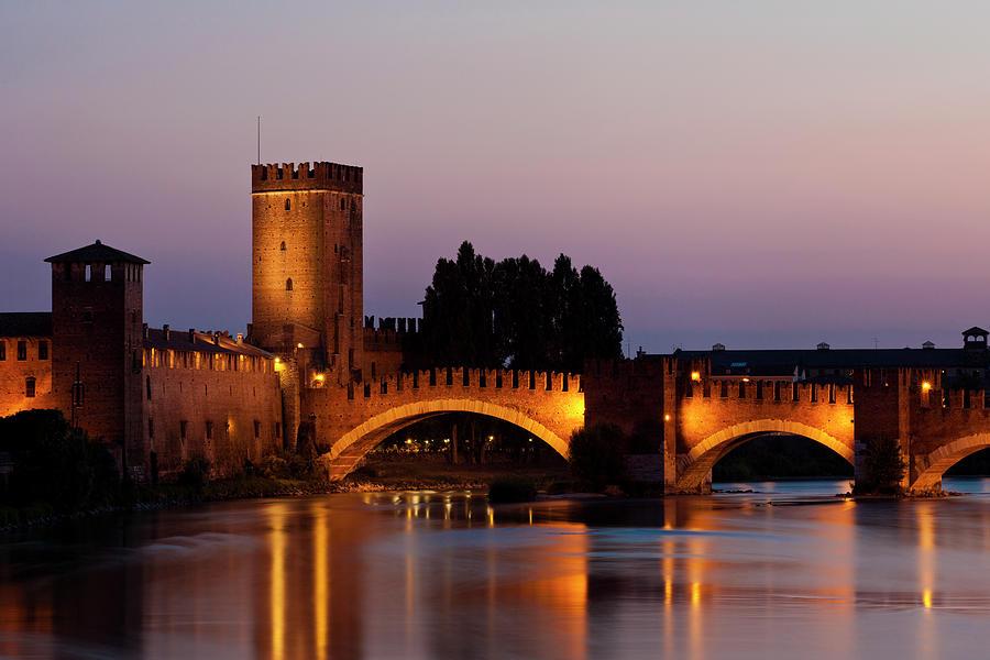 """Castelvecchio Or &quotold Castle"""" Photograph by Holgs"""