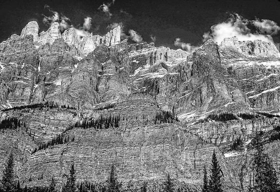 Castle Mountain Photograph