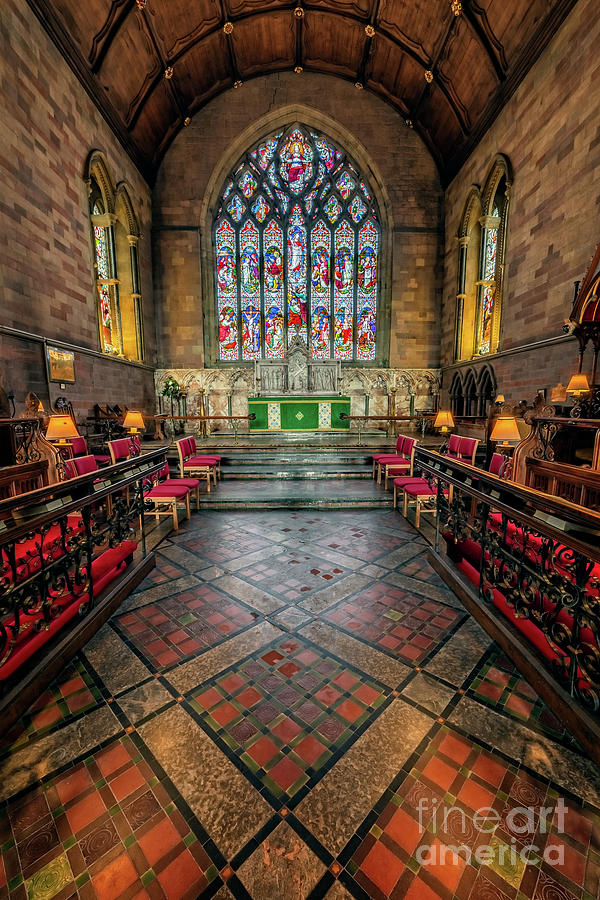 Cathedral Photograph - Cathedral Interior by Adrian Evans