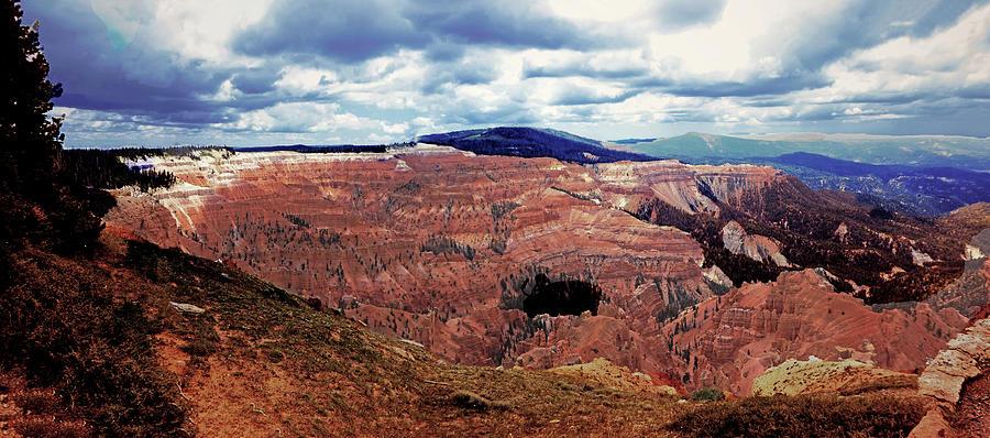 Cedar Breaks Utah Panorama by Alan Socolik