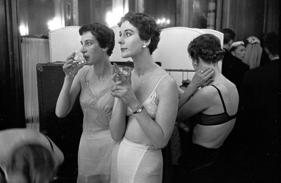 Champagne Break Photograph by Kurt Hutton