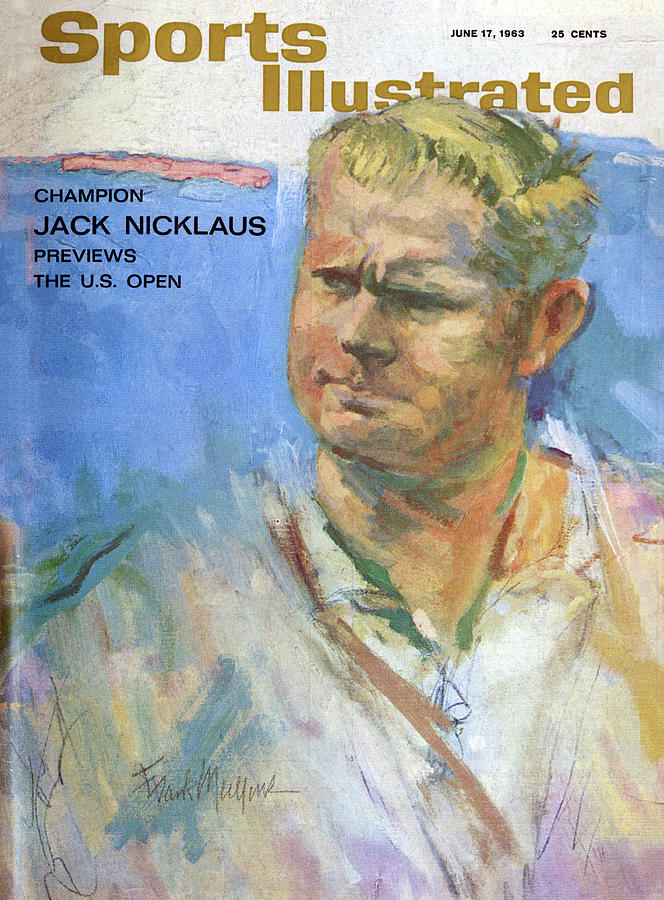 Champion Jack Nicklaus Previews The U.s. Open Sports Illustrated Cover Photograph by Sports Illustrated