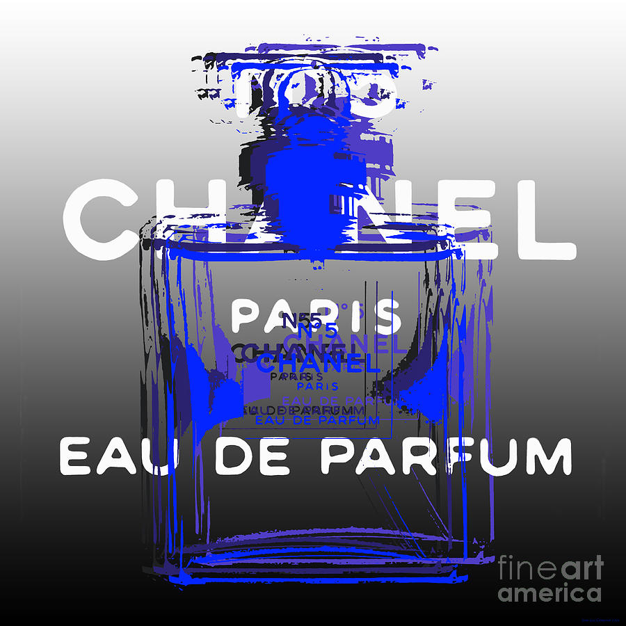 Chanel No 5 - Pop Art by Jean luc Comperat