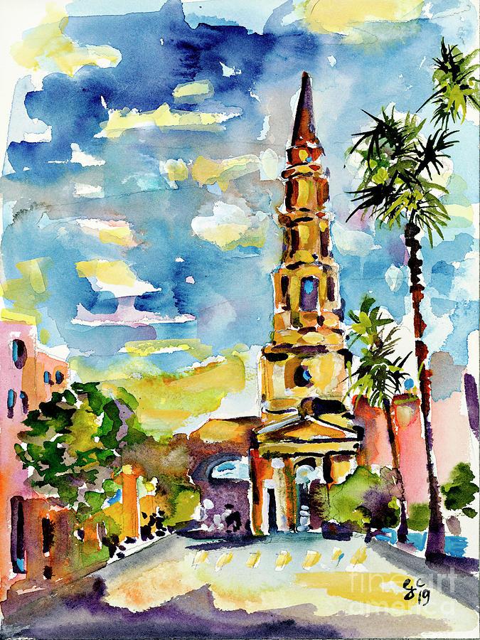 Charleston South Carolina St Philips Church by Ginette Callaway
