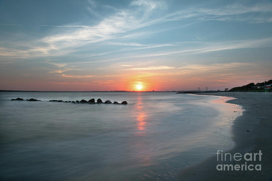 Charleston Sunset - Sullivan's Island by Dale Powell