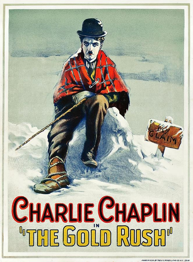 Charlie Chaplin In The Gold Rush 1925 By Album