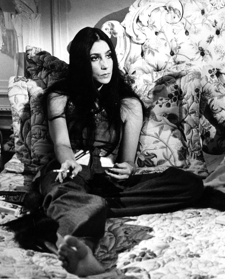 Cher Portrait Session At Home Photograph by Michael Ochs Archives