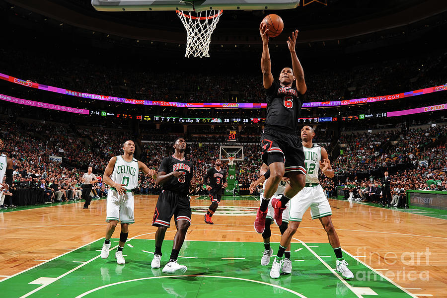 Chicago Bulls V Boston Celtics - Game Photograph by Brian Babineau