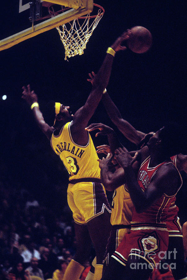 Chicago Bulls V Los Angeles Lakers Photograph by Wen Roberts