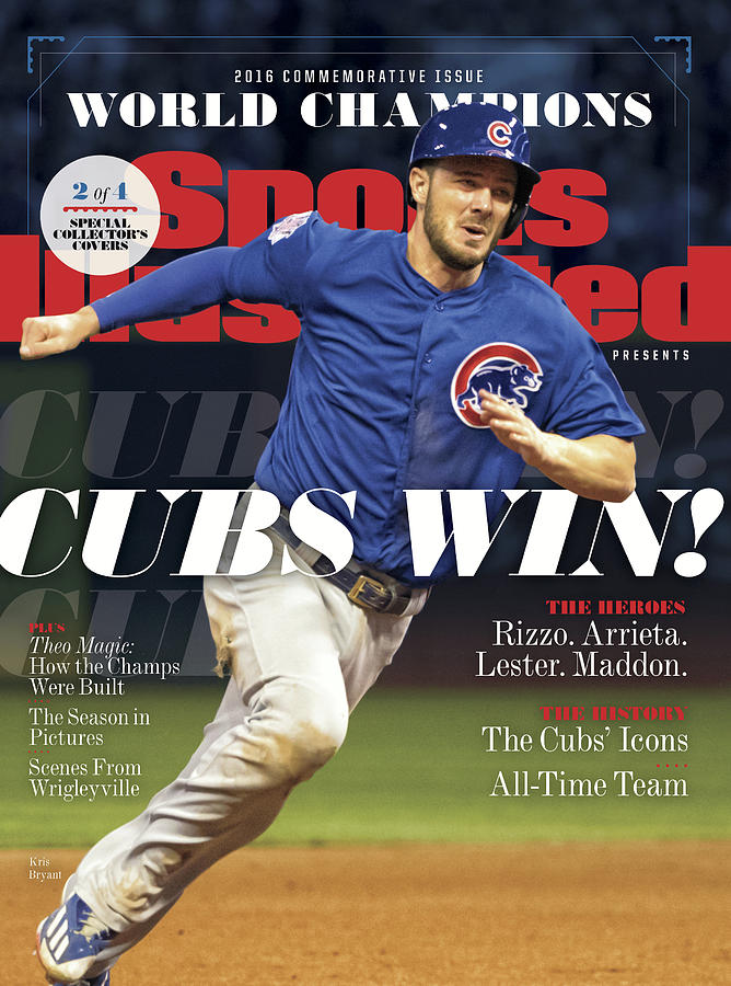Chicago Cubs, 2016 World Series Champions Sports Illustrated Cover Photograph by Sports Illustrated