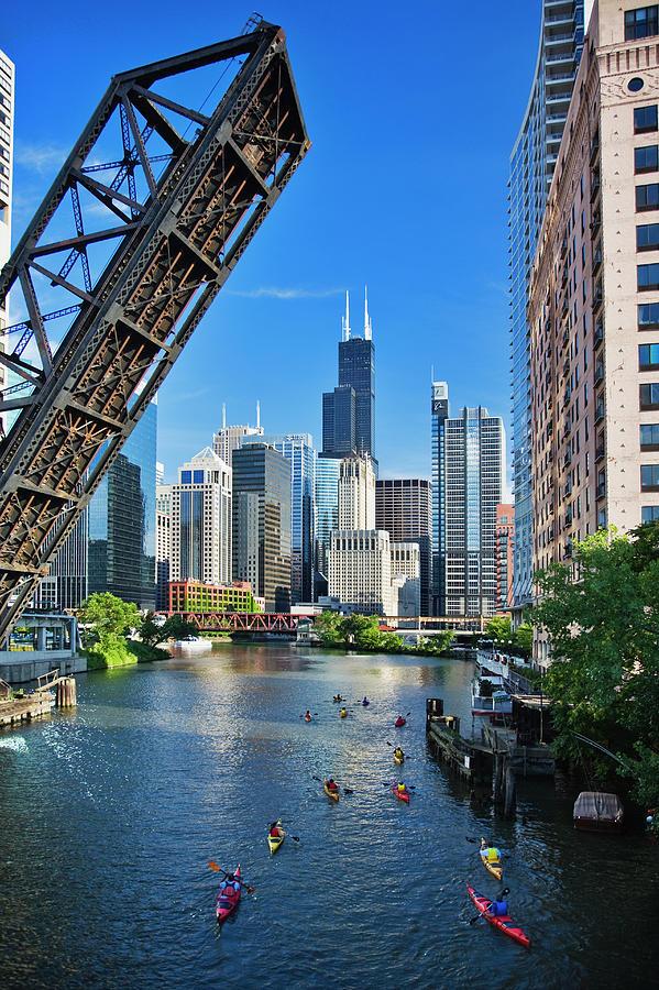 Chicago, Il Photograph by Adam Jones