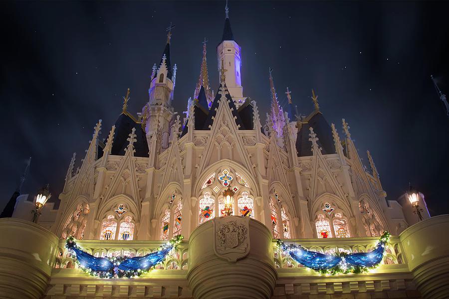Cinderella Castle Christmas Lights.Christmas At Cinderella Castle
