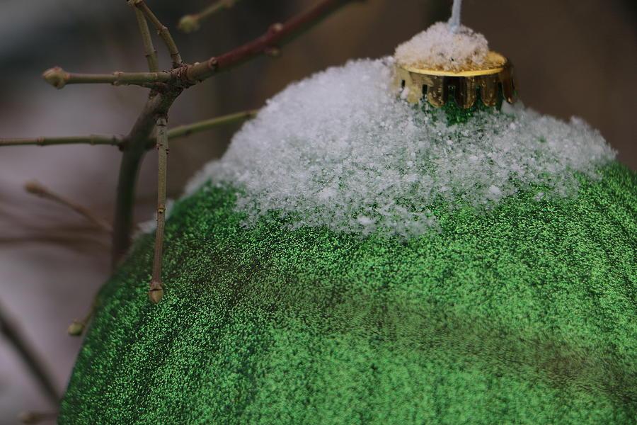 Christmas Bulb by The Art Of Marilyn Ridoutt-Greene