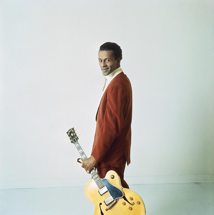 Chuck Berry Portrait Session Photograph by Michael Ochs Archives