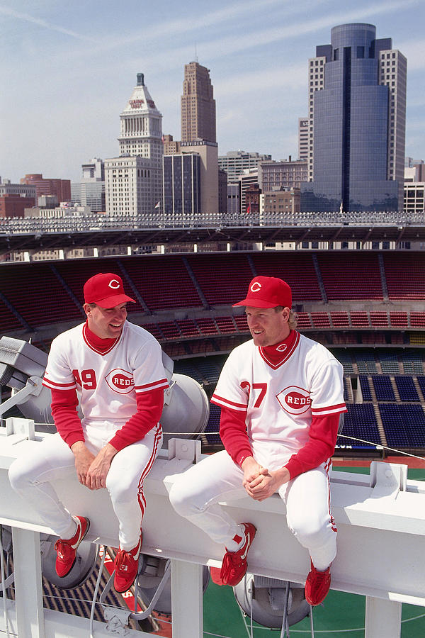 Cincinnati Reds 1 Photograph by Ronald C. Modra/sports Imagery