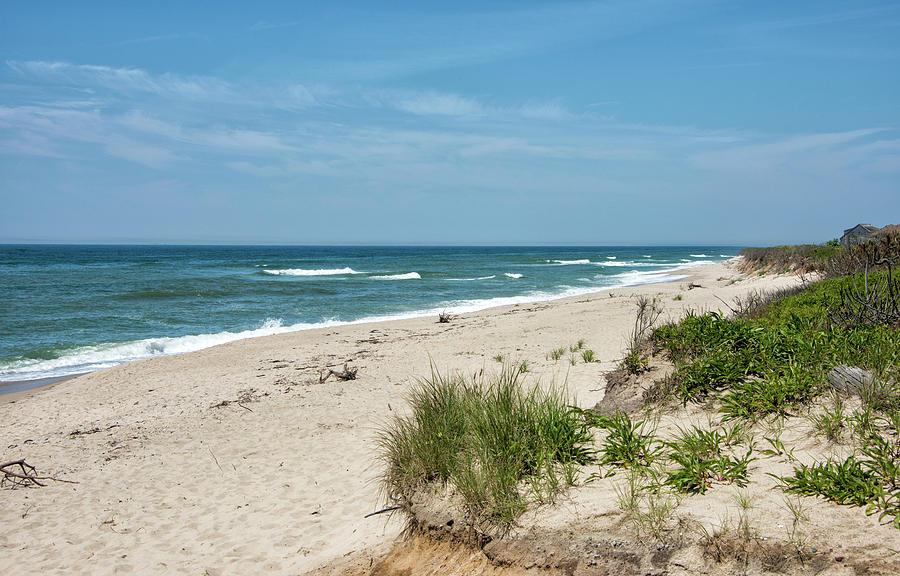Nantucket Island Photograph - Cisco Beach - Nantucket - Massachusetts by Brendan Reals
