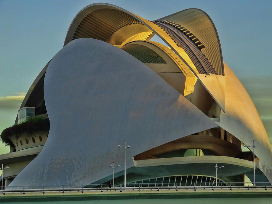 City Of Arts And Sciences  # 17 - Valencia Photograph