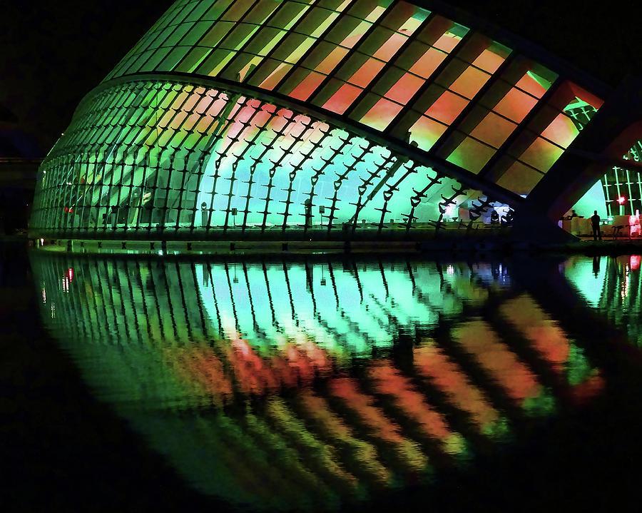 City Of Arts And Sciences  # 4 - Valencia Photograph