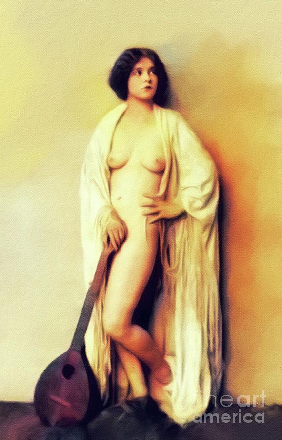 Clara Bow, Vintage Movie Star Nude