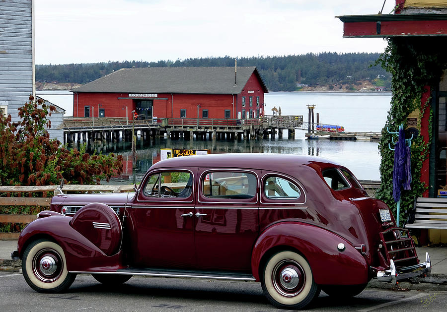 Car Photograph - Classic Coupeville by Rick Lawler